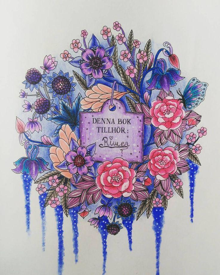 """102 To se mi líbí, 3 komentářů – °Rimea° Czech republik (@coloring.rimea) na Instagramu: """"#blomstermandalacoloringbook #blomstermandalamålarbok #blomster"""""""