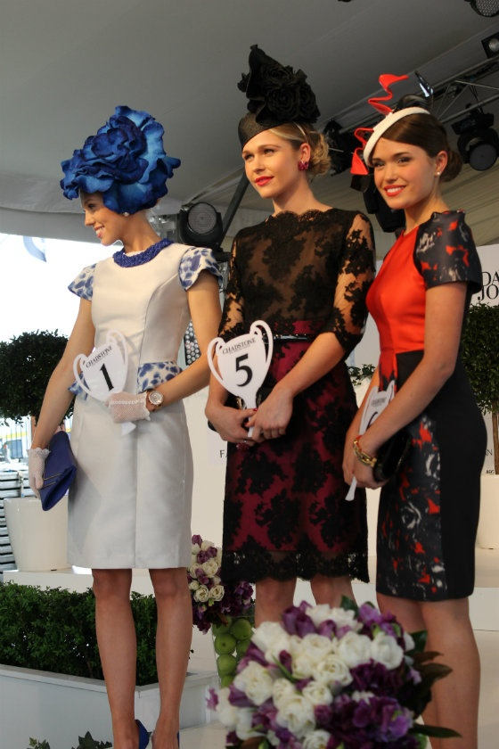 Caulfield cup: fashions on the field