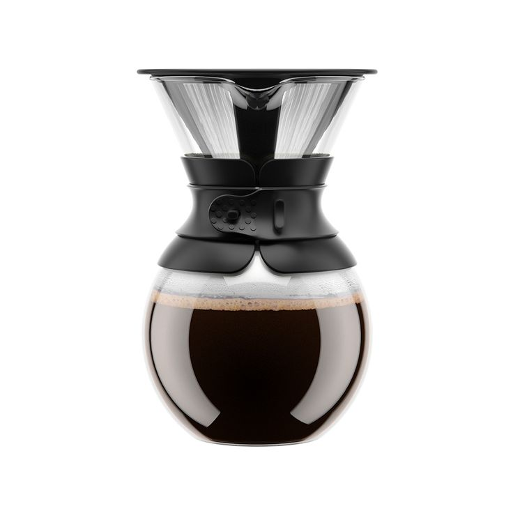 POUR OVER Kaffebryggare 1 L, Svart, Bodum