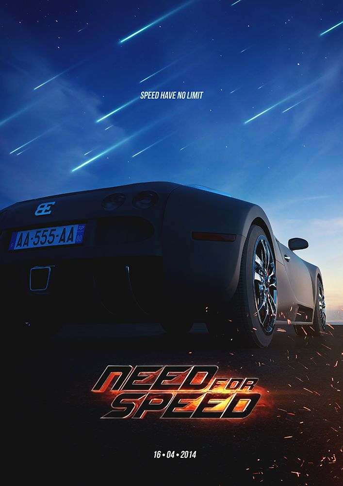 Affiche 3d Need for speed