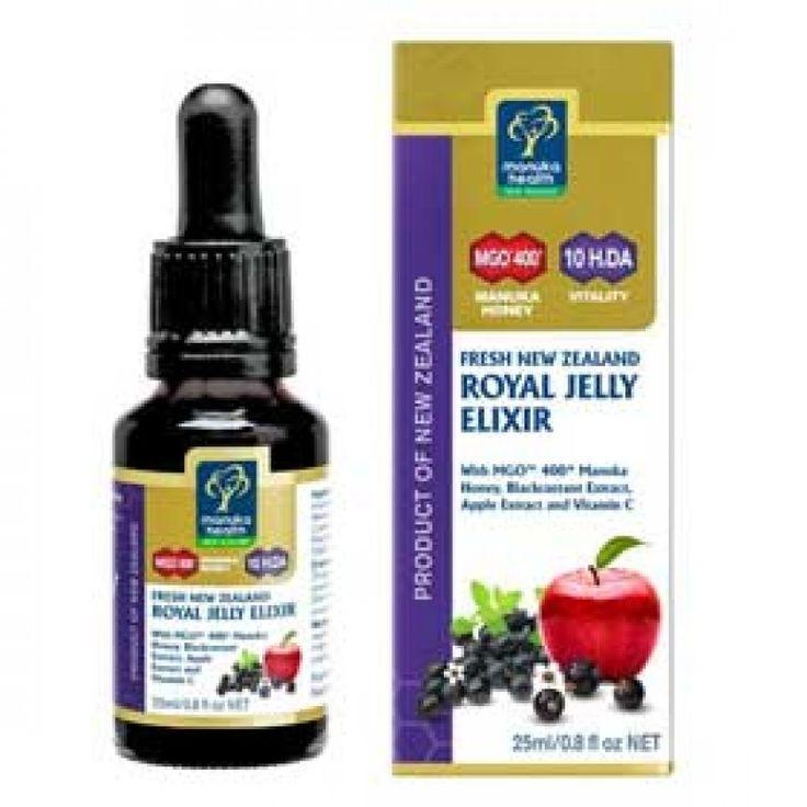 Manuka Health Fresh New Zealand Royal Jelly Elixir 25ml