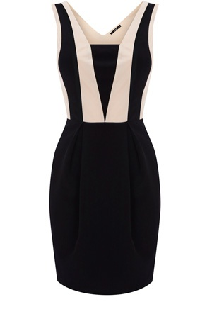 .: Black & White Dresses, Black White Dresses, Black And White, Cute Dresses, Clean Line, Amazing Clothing, Little Black Dresses, Work Dresses, Classy Chic