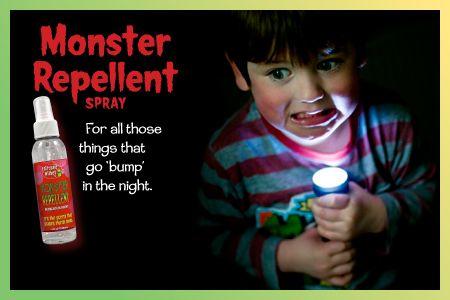 Monster Repellent, Sweet Dreams, Super Hero, Happy Camper Sprays, Fairytale Wishes Inc.