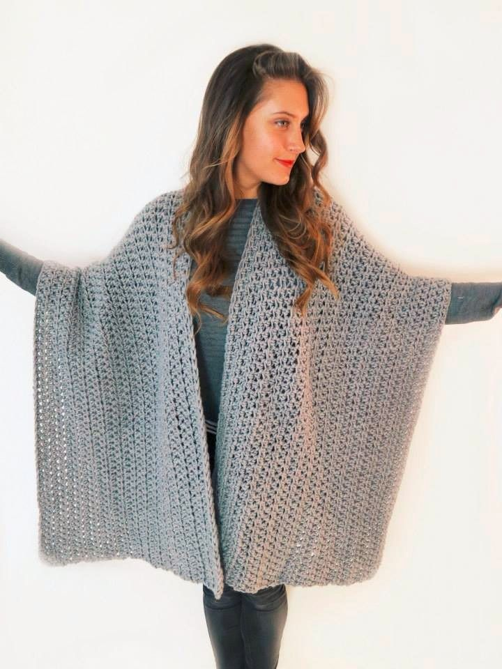 38 Best Crochet Ruanas Images On Pinterest Crochet Pattern