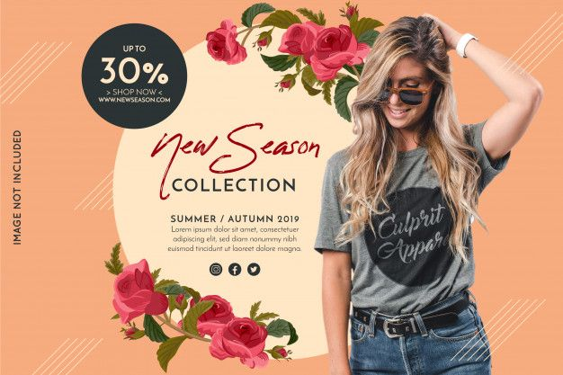 Download Promotion Fashion Banner For Free Fashion Banner Vector Free Banner