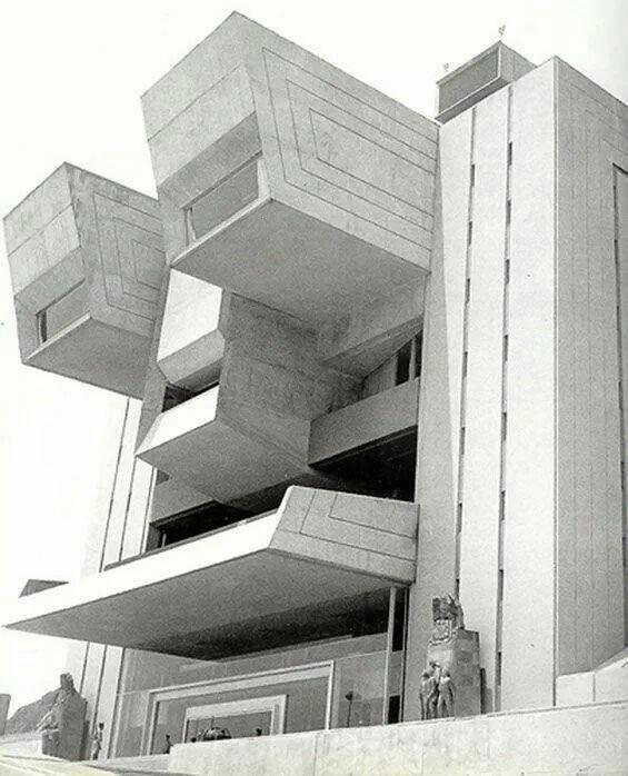 Colegio Milirar, Mexico City 1975