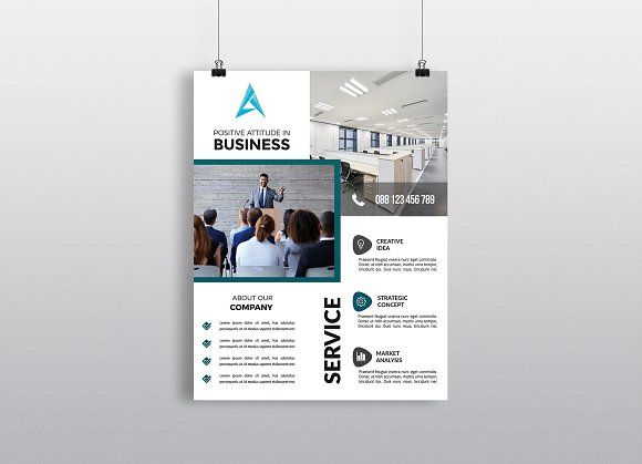 Business Flyer Template by Imagine Design Studio on @creativemarket