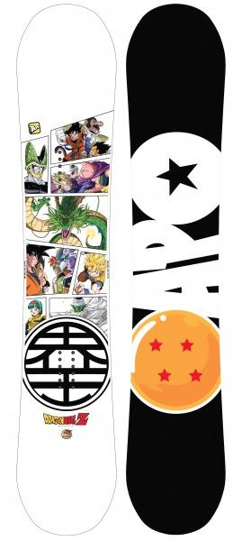 Kumi Yama and Toei Animation Teamed Up With APO To Design Dragon Ball Z Snowboard