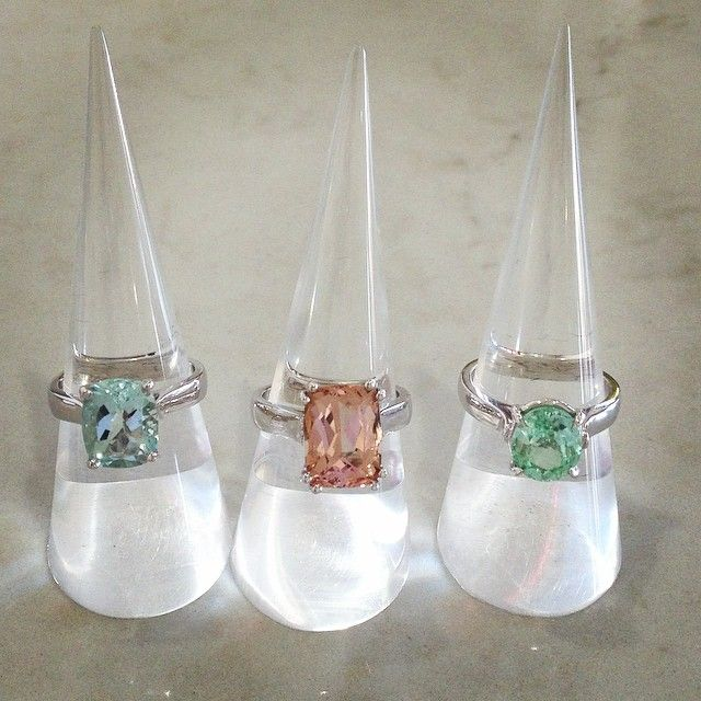 Is the Easter bunny bringing you a LUONE cocktail ring this weekend? #Easter #luone @luonejewellery #cocktailring #rings #aquamarine #morganite #tourmaline #sterlingsilver #beautifulcours #portfairyjeweller #portfairy Which one is your favourite?