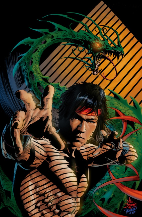 Master of Kung Fu Shang Chi by Mike Deodato Jr