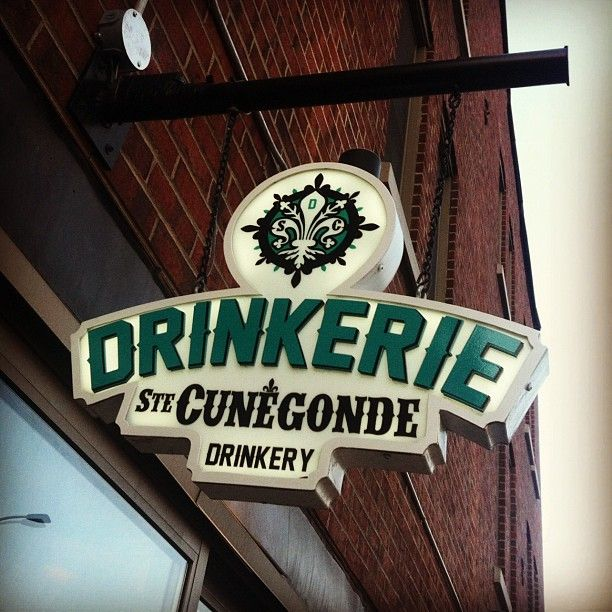 Drinkerie Ste-Cunégonde in Montreal, QC