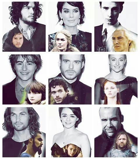 Game of Thrones people are so good looking!! Holy s*%t.
