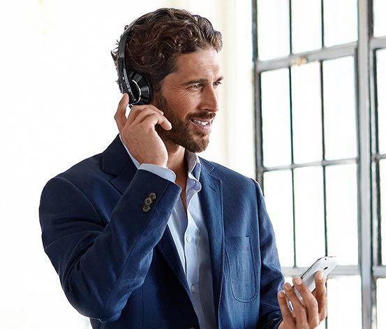 Bezdrátová sluchátka Bluetooth®