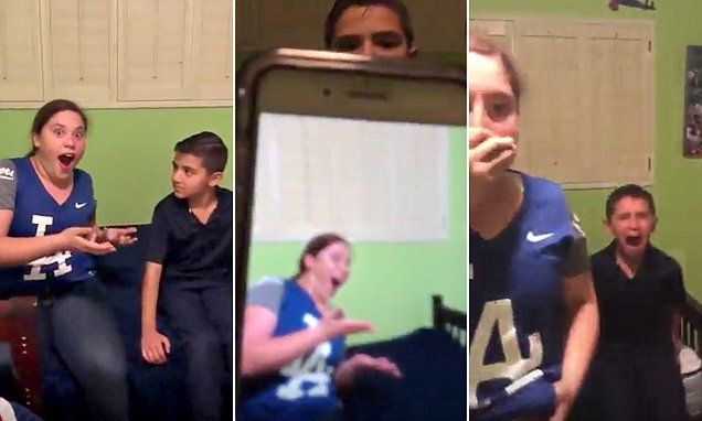 Have You Seen This? Brothers trick sister into thinking