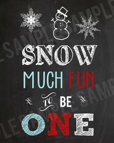 Snow Party on Pinterest | Snowman Birthday Parties, First Birthday ...