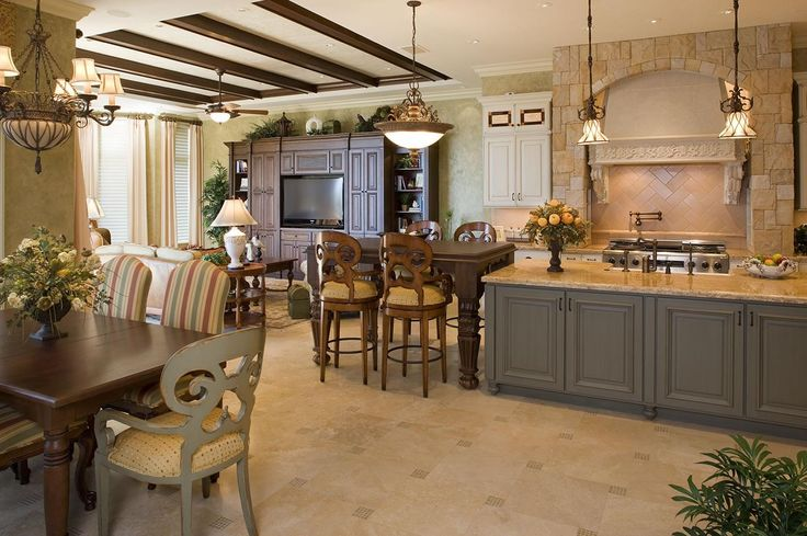 Mediterranean Style Kitchen Tiles