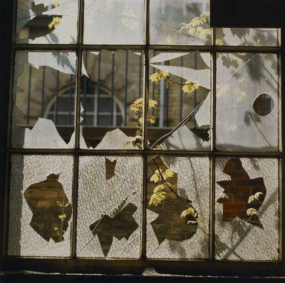Broken window by Fay Godwin - print