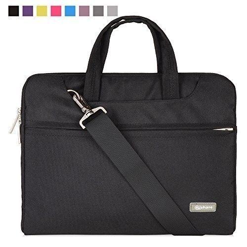 Business Laptop Sleeve Multi-functional Carrying Handbag Briefcase 15 15.6 Inch #Qishare #Handbag