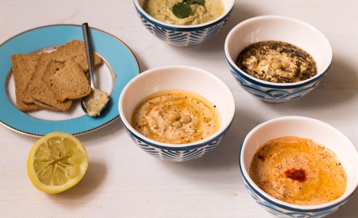 4x hummus recept - De Wereld op je Bord