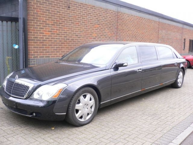 Who Knew Maybach Made A Limo Pretty Damn Cool