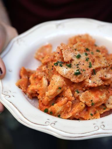 One pot pasta poulet tomate : quand tout cuit dans une seule et même casserole, ça fait moins de vaisselle