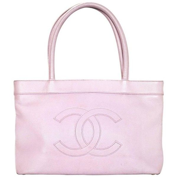 Preowned Chanel Lavender Cc Caviar Tote Bag (14.395.435 VND) ❤ liked on Polyvore featuring bags, handbags, tote bags, purple, totes, tote purses, pink tote, pink tote purse, pink purse and chanel handbags