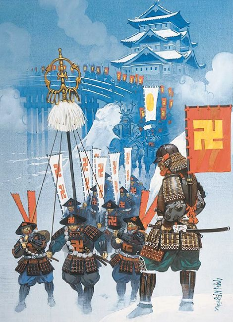 """Tsugaru Nobuhira at Hirosaki Castle, 1610"" Angus McBride"