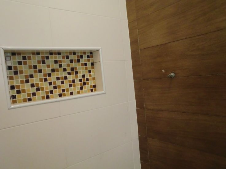 89 best images about Banheiro on Pinterest  Madeira, Bathroom wood floors an -> Nicho Banheiro Box