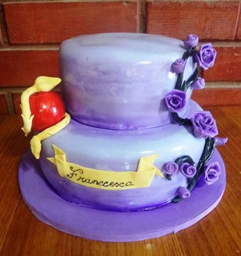 #Descendants #fondant #cake by Volován Productos  #instacake #puq #Chile #VolovanProductos #Cakes #Cakestagram #SweetCake