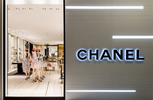 Inside the new Chanel store in the JK Iguatemi mall