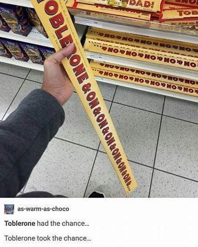 Toblerone & On & On