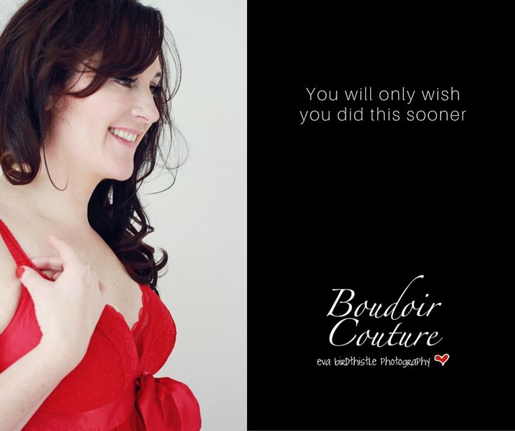 No one every completely feels ready to do a Boudoir shoot but the only thing you will regret is that you didn't do it sooner.  #boudoir #photography #portrait #red #feminine #women #happy #confident
