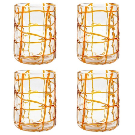 Abstract Rocks Glass (Set of 4)