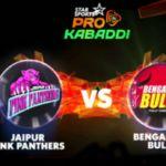 Pro Kabaddi League:Pink Panthers edge past Bulls to surge into top spot