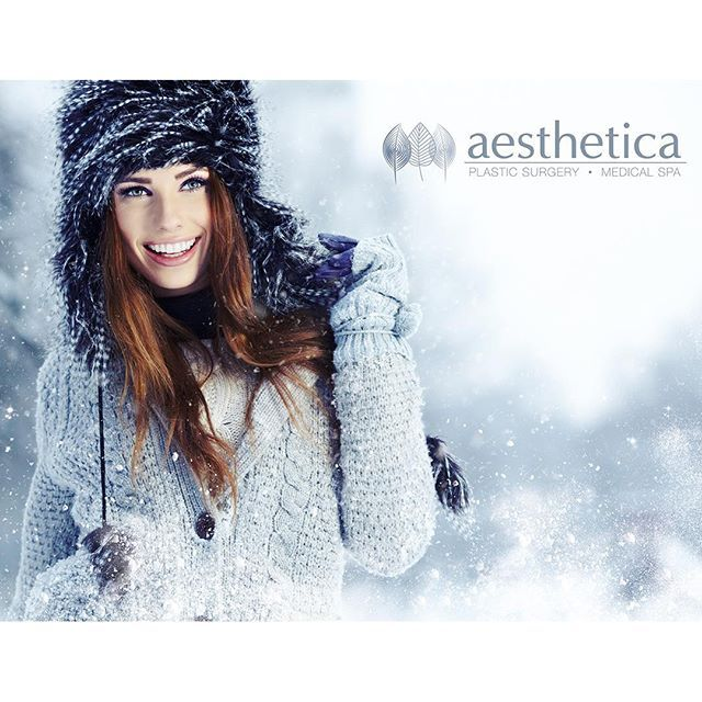 Stand out and #LookBeautiful in a #UtahWinter wonderland! Discover the benefits of pampering at Aesthetica Medical Spa!
