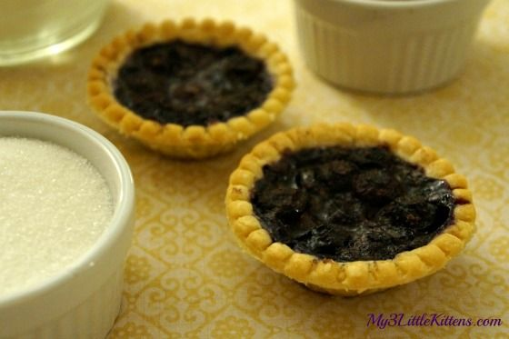 I went with Homemade Blueberry Tarts because they are not only the perfect treat, but also ridiculously easy to make!