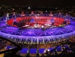 Behind the scenes at the #London2012 #Olympics. #OpeningCeremony