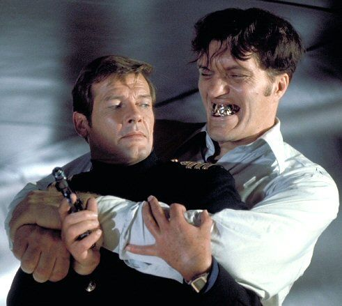 James Bond and Jaws in The Spy Who Loved Me  1977
