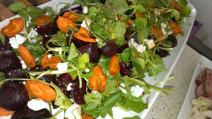 Moroccan Inspired Roasted Beetroot Salad