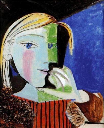 una-lady-italiana:  portrait of Marie Thérèse Walter - 1937 - by Pablo Picasso
