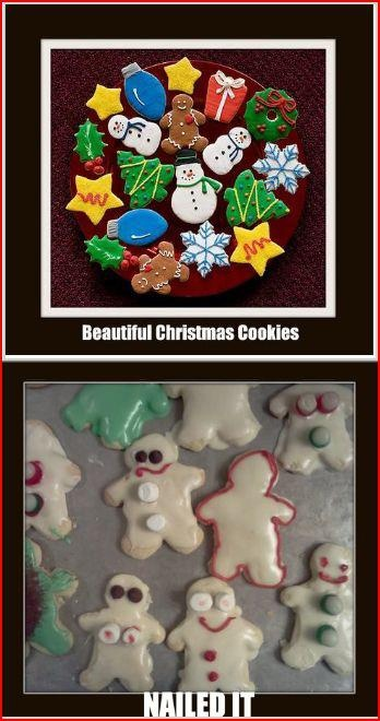My failed Pinterest cookies: Christmas Pinterest, Christmas Cookies, Cookies Wel, Baking Fails, Time Christmascookiefail, Pintrest Fails, Epic Fails, Cookies Fails, Pinterest Fails