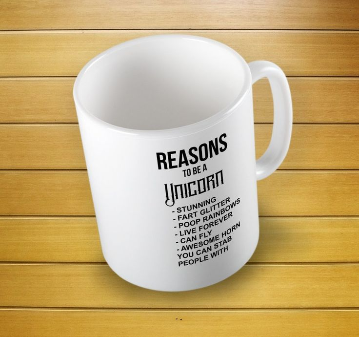 The Original Reasons To Be A Unicorn Mug #unicorncoffeemug #unicorncup #reasonmug #reasonunicorns #giftforher #mugs #mug #whitemug #drinkware #drink&barware #ceramicmug #coffeemug #teamug #kitchen&dining #giftmugs #cup #home&living #funnymugs #funnycoffecup #funnygifts