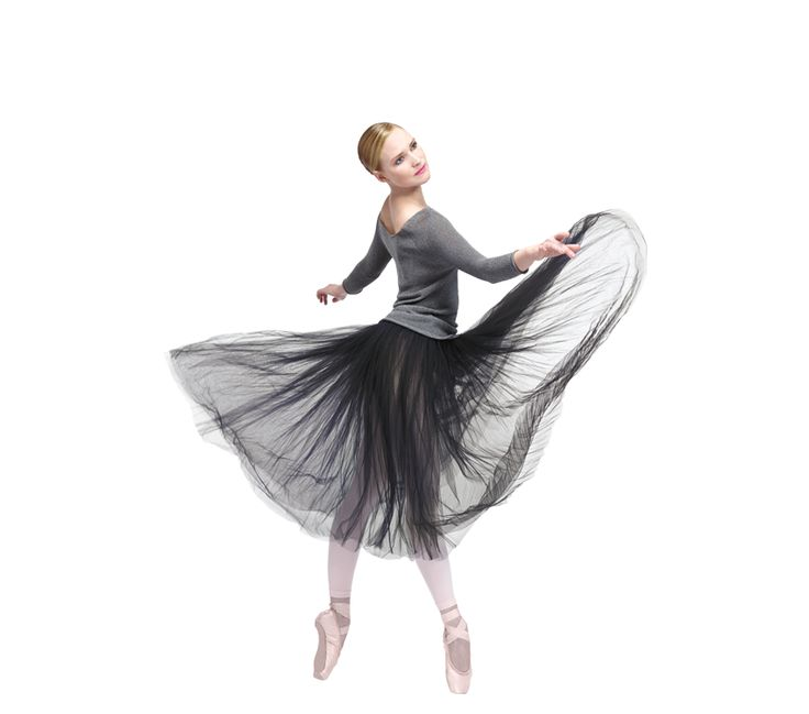 Long tights top with long sleeves and Rehearsal skirt by Repetto - Collection spring-summer 2014