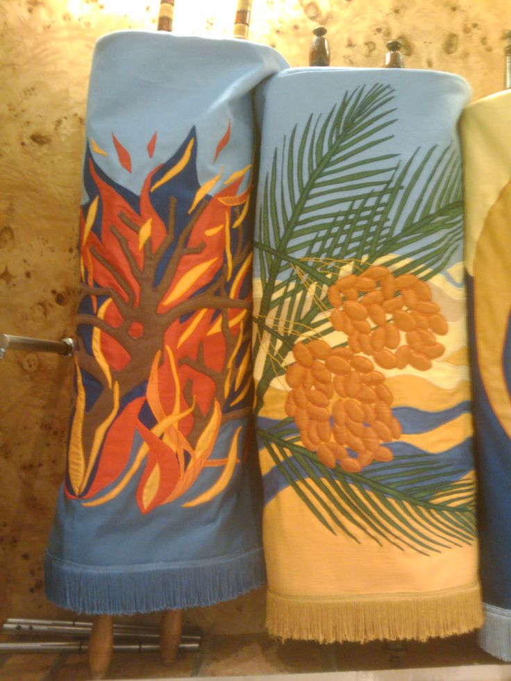 Close up of the fire and honey mantles designed by Alison Shearman
