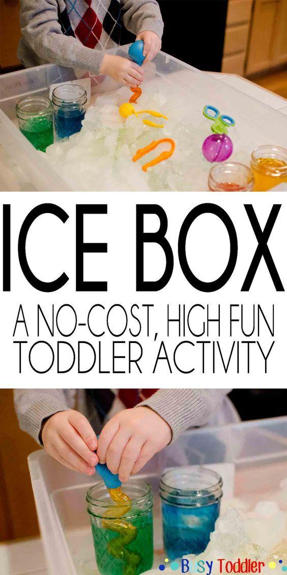 Ice Box: Chilly Fine Motor Skills Play