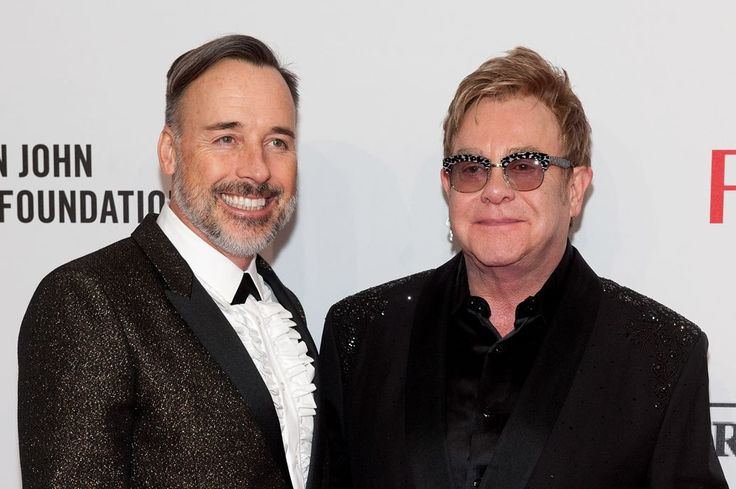 Elton John Marries Longtime Partner David Furnish (12/21/14)