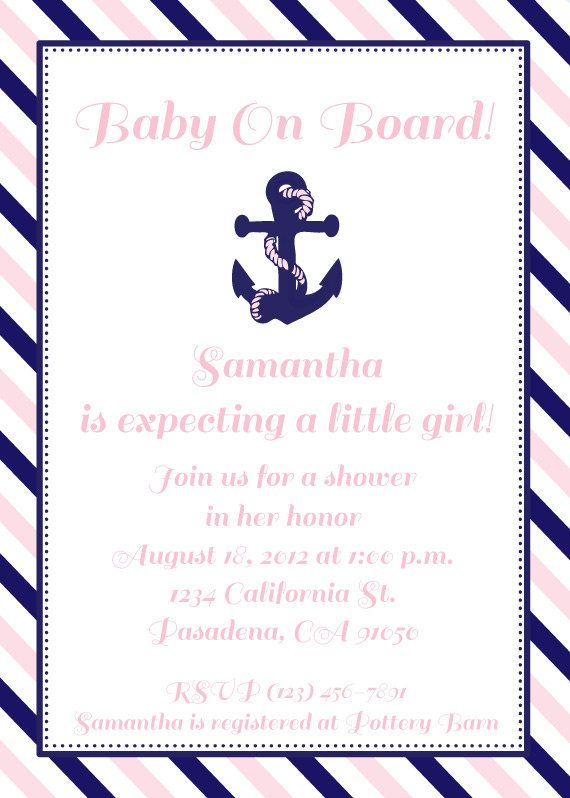 future baby shower invitation