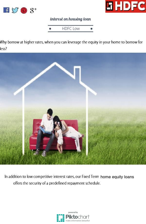 Hdfc  #interestonhousingloan are lowest,you can easily get #homeequityloan from hdfc  #housingfinance .