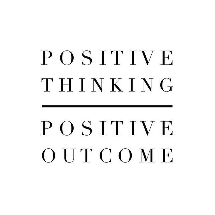 #Positivethinking