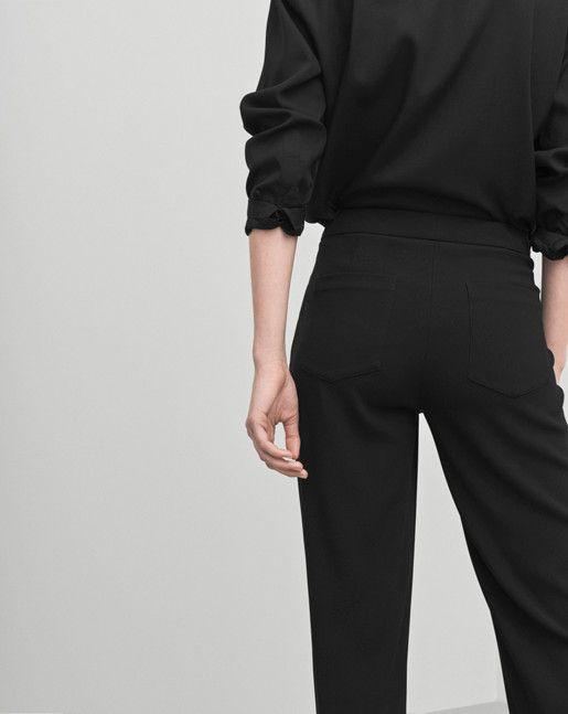 Nick Crepe Pants